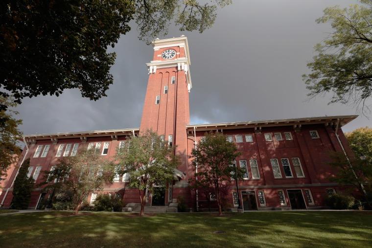 Image: Bryan Hall on the Washington State University campus in Pullman, Wash.