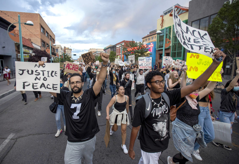 Image: Albuquerque protest