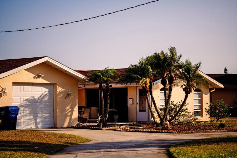 Image: Robert Jones' former home in Pasco County.