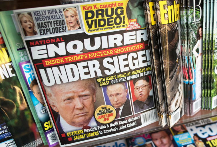 Image: Donald Trump, national Enquirer cover