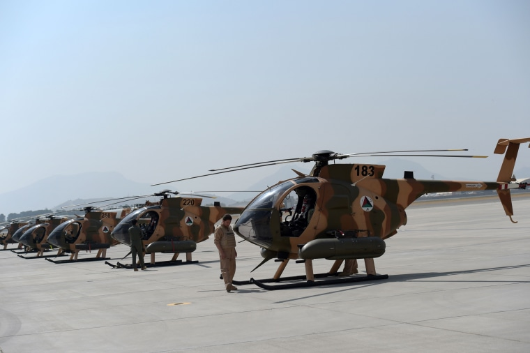 Image: MD-530 Helicopters in Kabul