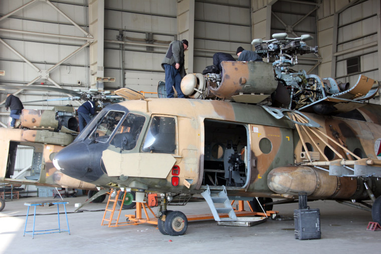 Image: Russian Mi-17 helicopter