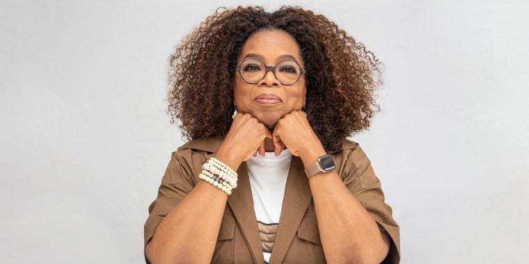 "Oprah Winfrey at the ""David Makes Man"" Press Conference at the Four Seasons Hotel"