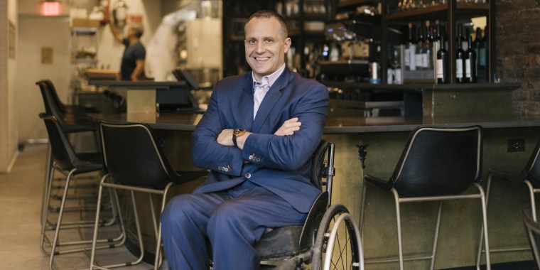 Yannick Benjamin is one of the partners in a new restaurant that aims to be a comfortable, accessible space for people with disabilities.
