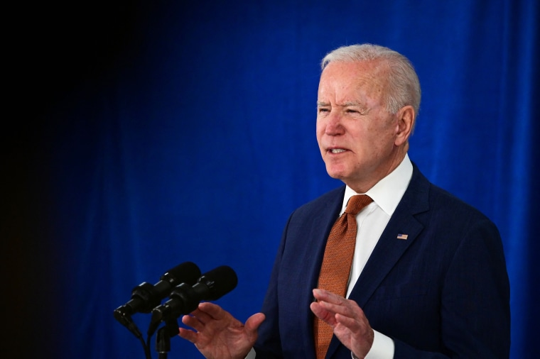 President Joe Biden speaks about the May jobs report on June 4, 2021, at the Rehoboth Beach Convention Center in Delaware.
