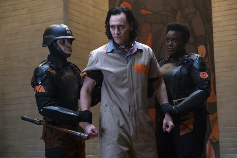 """Tom Hiddleston as Loki in Marvel Studio's """"Loki."""""""