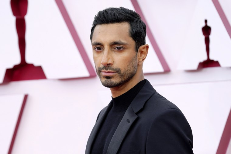 Riz Ahmed attends the 93rd annual Academy Awards in Los Angeles on April 25, 2021.