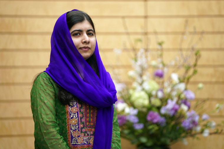 Nobel Peace Prize laureate Malala Yousafzai in Tokyo on March 22, 2019.