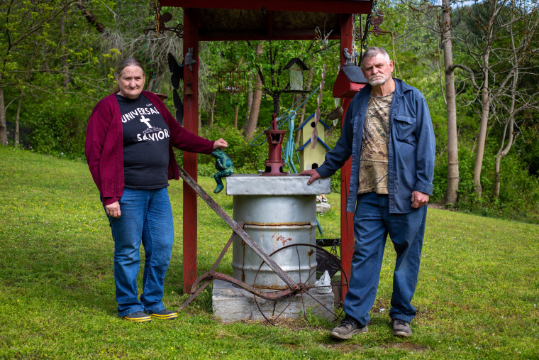 All the water's bad': In McDowell County, you have to get creative to find safe drinking water 210610-west-virginia-water-well-jm-1526