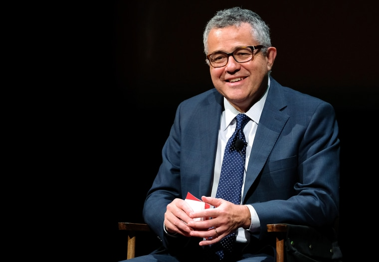 Image: Jeffrey Toobin at SAG-AFTRA Foundation's Conversations with Tom Brokaw on Oct. 7, 2016 in New York City.
