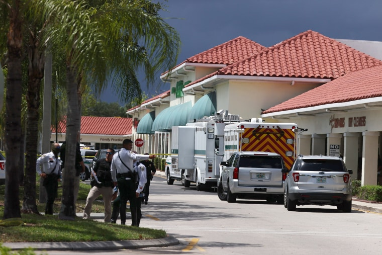 Image: Three Dead In Shooting Inside Publix Grocery Store In Royal Palm Beach, Florida