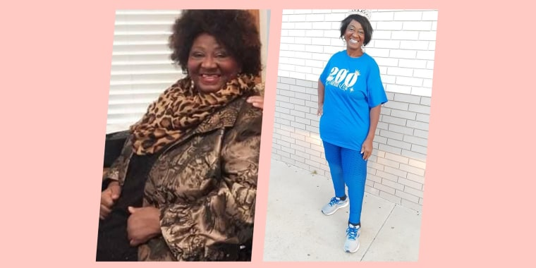 """Judy Wilson reached her highest weight in 2016. Five years later and 200 pounds lighter, she said she's """"living my best life right now."""""""