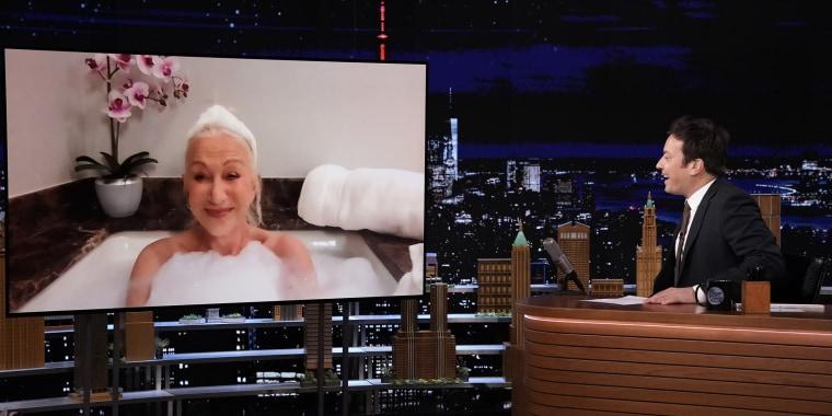 Helen Mirren on The Tonight Show Starring Jimmy Fallo