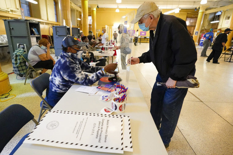 Image: NYC early vote