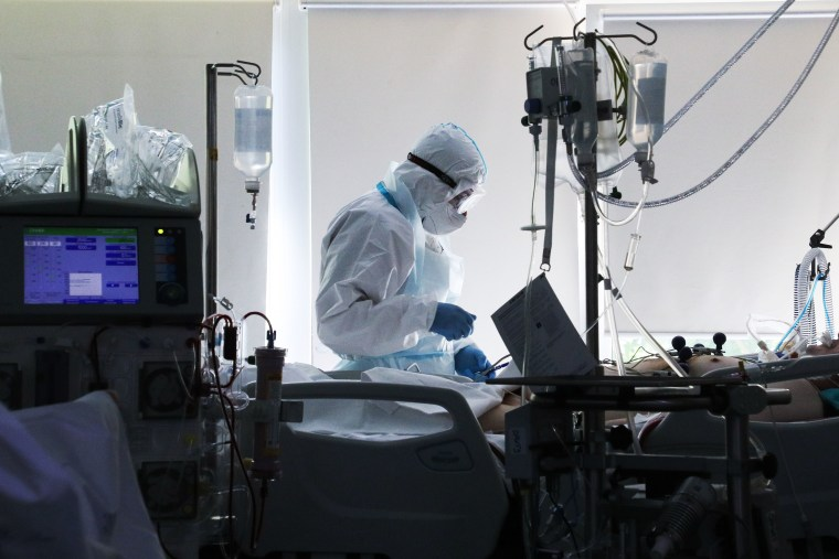 Moscow's City Clinical Hospital No 52 amid COVID-19 pandemic