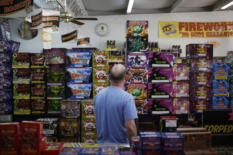 Image: Fireworks sale