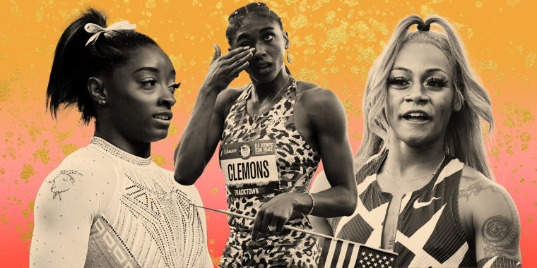 Simone Biles, Cristina Clemons and Sha'Carri Richardson share the sweet reasons behind their styles at the Olympic trials.