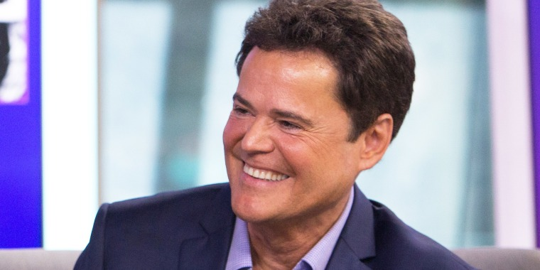 Pictured: Donny Osmond