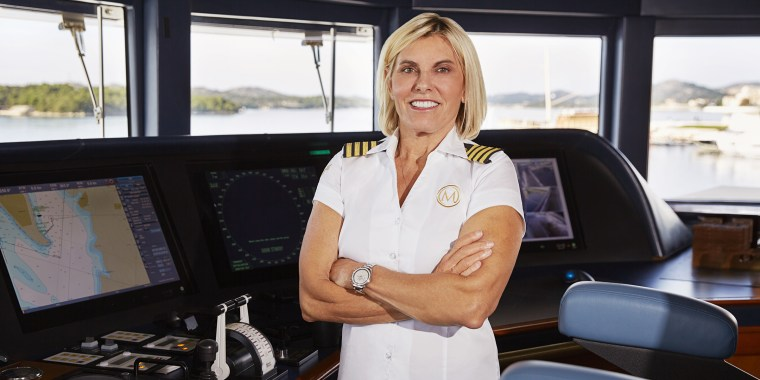 """Captain Sandy Yawn offers a calming presence amid the drama of Bravo's """"Below Deck Mediterranean."""""""