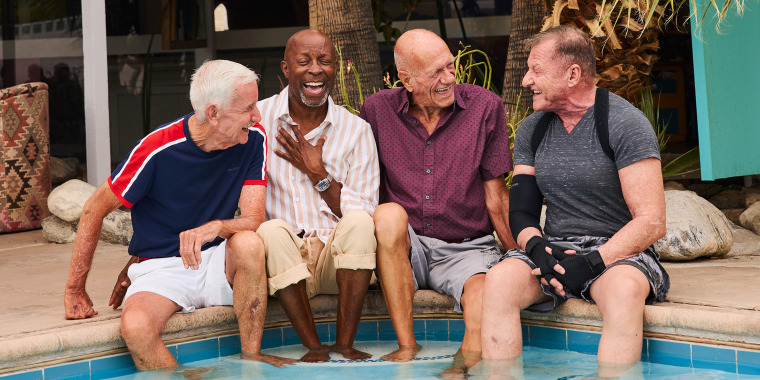 """What happens when you take four gay senior citizens, put them in front of a video camera and ask them anything? The answer is """"Old Gays."""""""