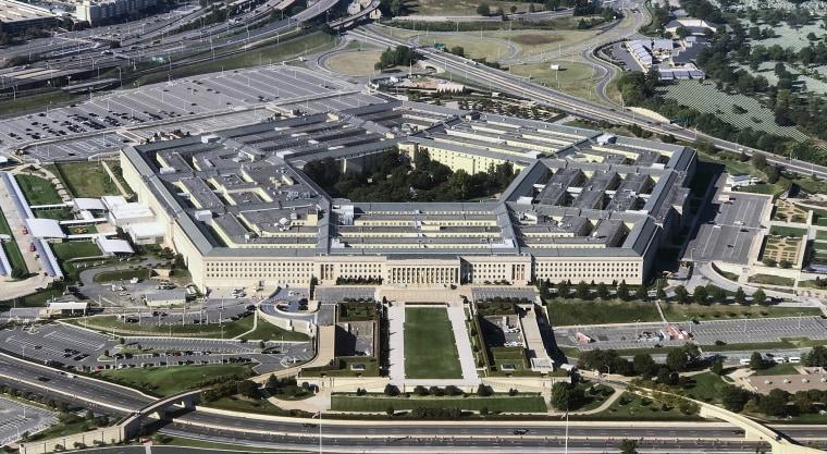 Image: The Pentagon building on Sept. 24, 2017