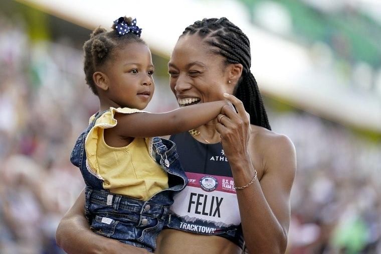 Allyson Felix's Daughter