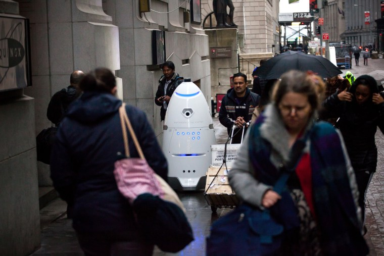 Image: Knightscope security robot