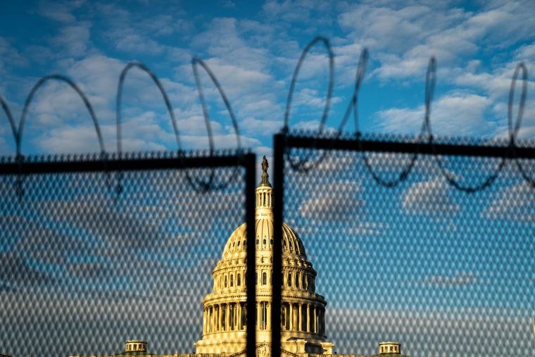 Protests Expected In Washington DC Ahead of Inauguration of Joe Biden