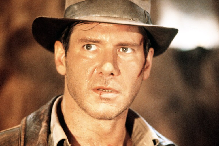 Harrison Ford in Indiana Jones and the Last Crusade.