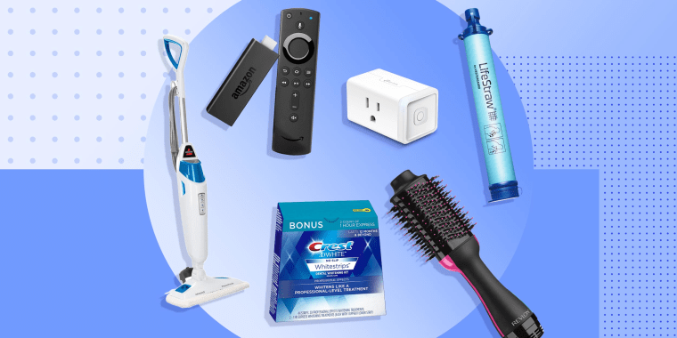Illustration of different products that sold best on Amazon Prime Day
