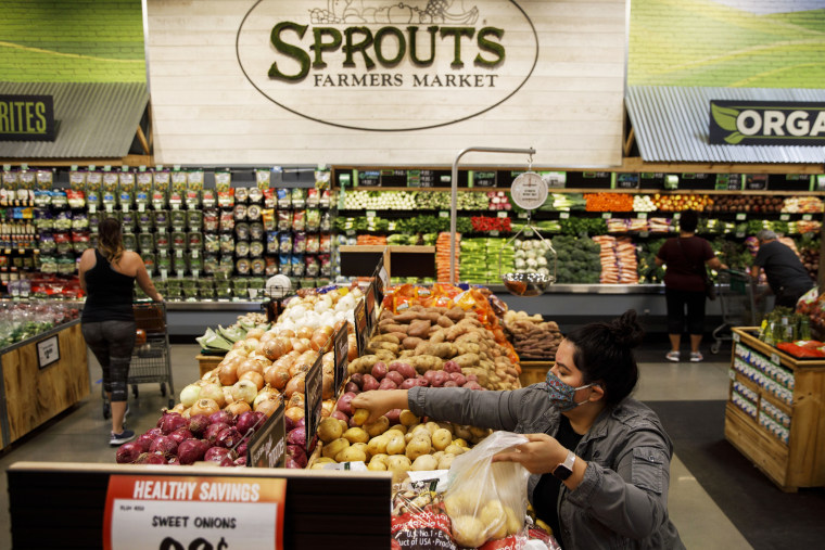 Inside A Sprouts Farmers Market Grocery Store