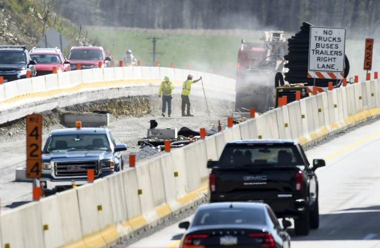 Interstate Work Zone Safety Press Conference In Pennsylvania