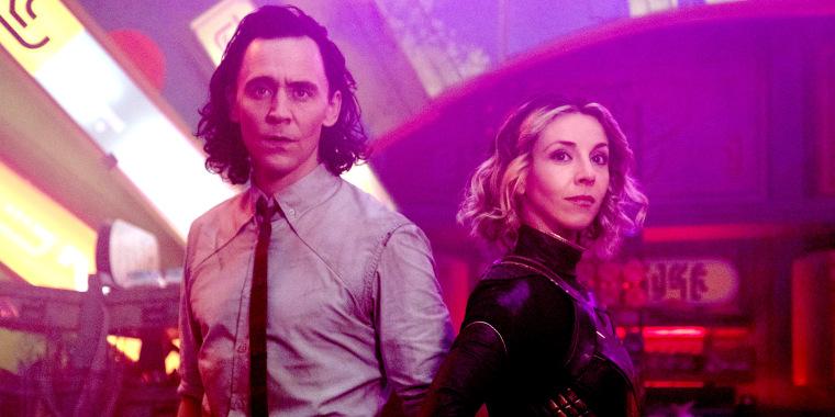 "Tom Hiddleston and Sophia Di Martino star in Marvel Studios' ""Loki,"" exclusively on Disney+."