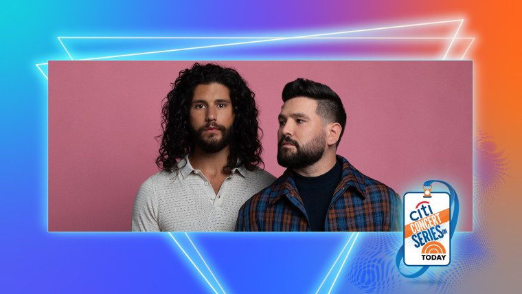 Get ready Dan + Shay fans! The duo is coming to TODAY on July 16th to perform live as part of the Citi Music Series.