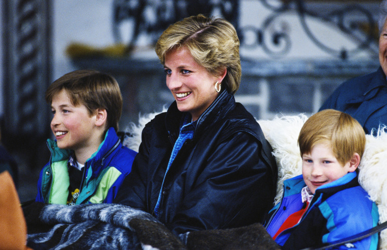 Image: Diana With Sons In Lech