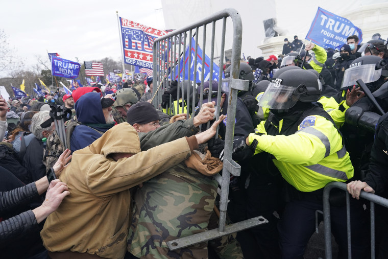 Image: Pro-Trump Protests over Electoral College Vote Certification