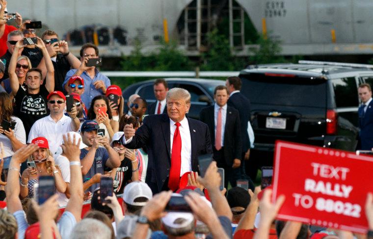 Image: Donald Trump Ohio rally