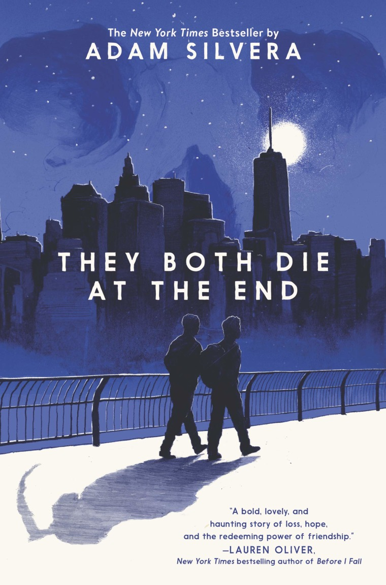 """""""The Both Die at the End"""" by Adam Silvera."""