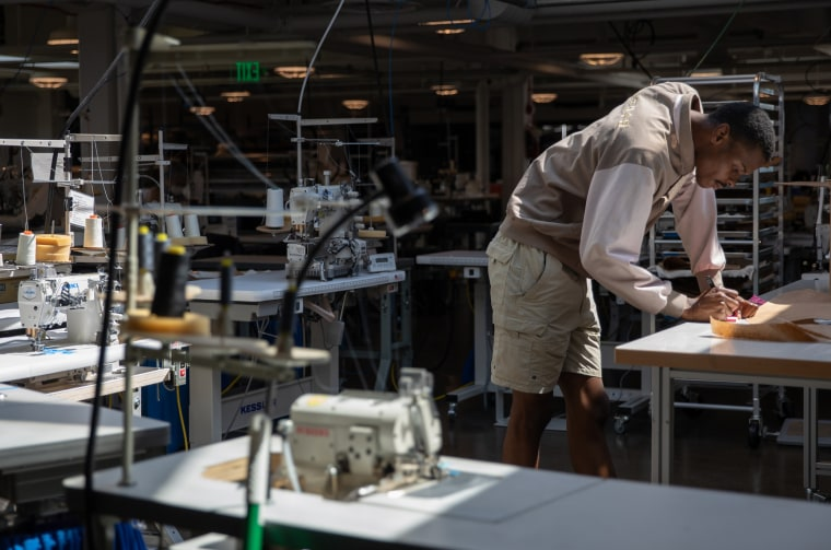 Industrial Sewing & Innovation Center Facility Ahead Of Markit Manufacturing Figures