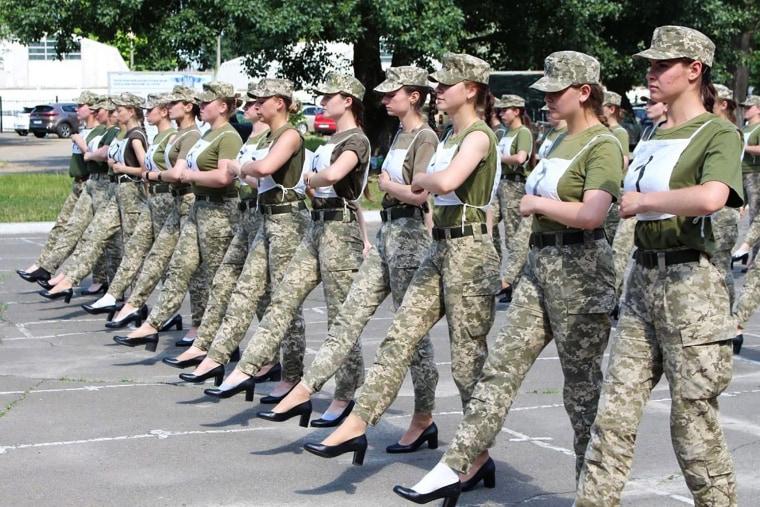 Image: TOPSHOT-UKRAINE-DEFENCE-POLITICS-WOMEN