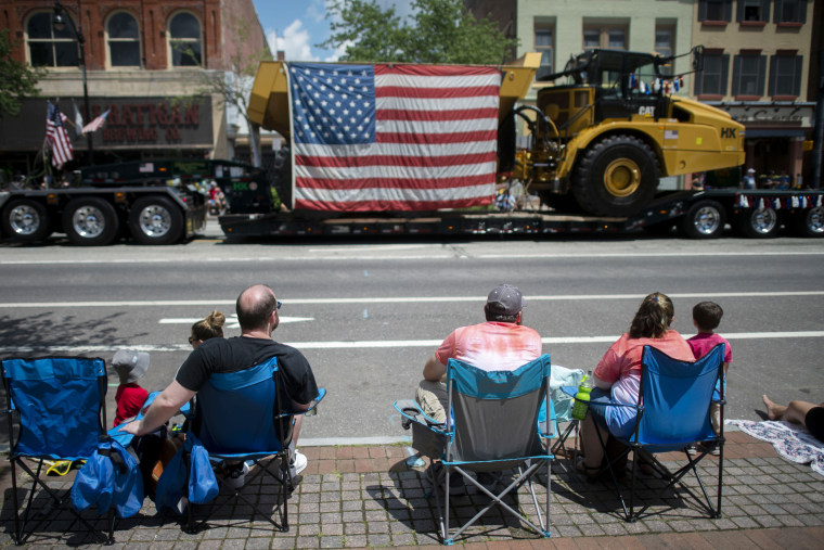 Americans Celebrate Fourth Of July Across The Nation