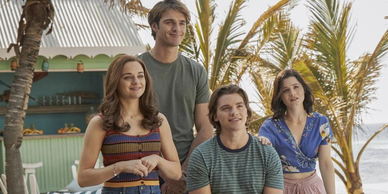 """The much-awaited third installment of """"The Kissing Booth"""" series is set to premiere next month."""