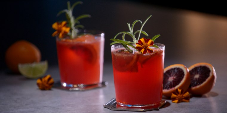 A cocktail typical of Sicily, this light, vibrant drink has blood orange and dryer wine.