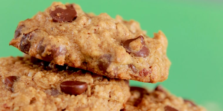 Sweet enough for dessert but healthy enough for breakfast, these cookies are a great way to use up oats.