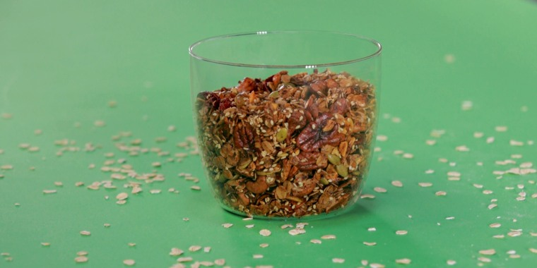 Garam masala, honey and a dash of cayenne give this savory oatmeal its complex flavor.