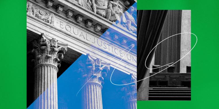 Illustration of the Supreme Court.