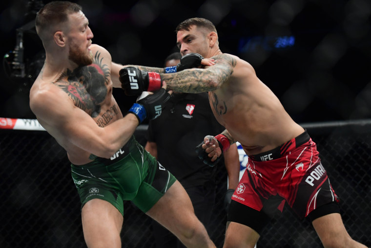 Image: MMA: UFC 264-McGregor vs Poirier