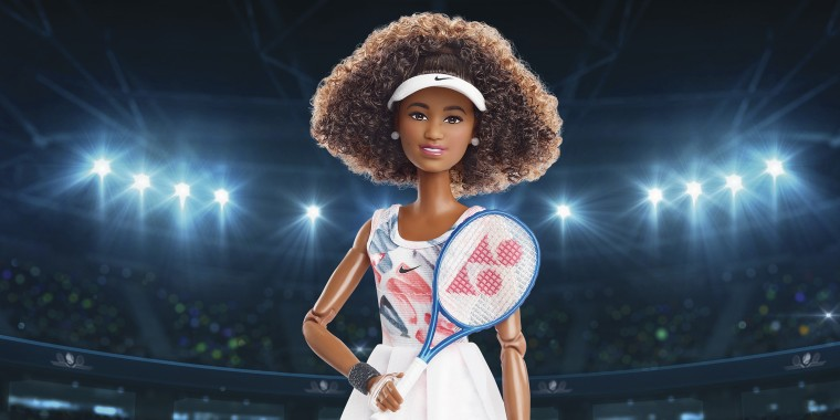 Mattel has released a Naomi Osaka Barbie doll, available now for pre-order for August shipping.