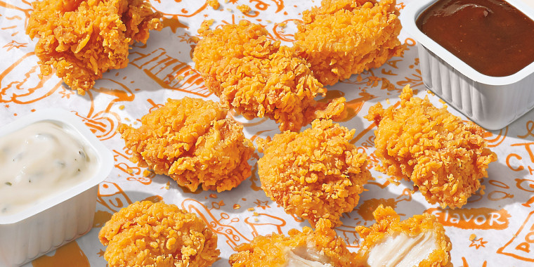 The newest addition to the Popeyes menu is cluckin' awesome.