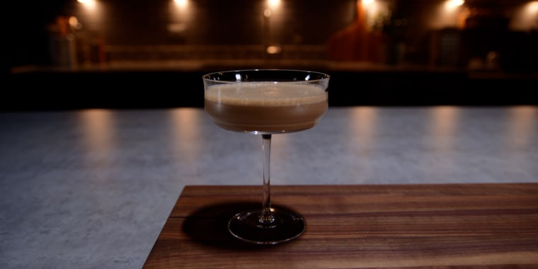 Satiate the craving for dessert and a cocktail in one drink!